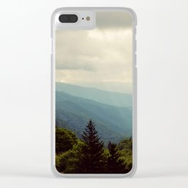 THE LIGHT THROUGH THE CLOUDS Clear iPhone Case