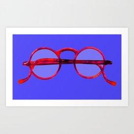 Vintage Eyeglasses #1 Art Print