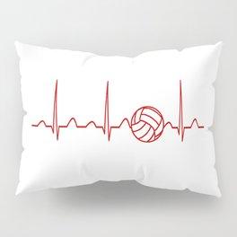 VOLLEYBALL HEARTBEAT Pillow Sham