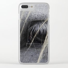 eye of the horse Clear iPhone Case
