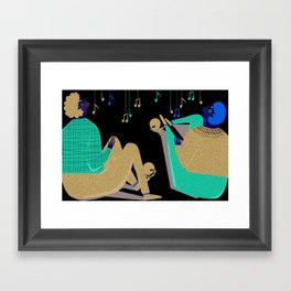 Paul and Silas Singing in Prison (By Alice Potter) Framed Art Print