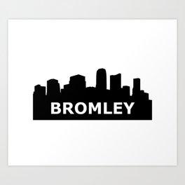 Bromley Skyline Art Print