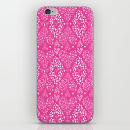 Dotty Doodle Love Hearts iPhone Skin