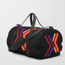 Abstract art in X formt Duffle Bag