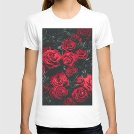 Red Roses (Color) T-shirt