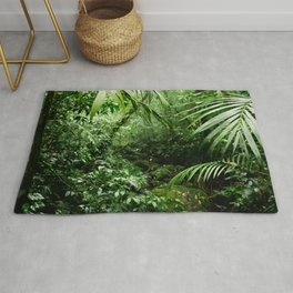 Misty Rainforest Creek Rug