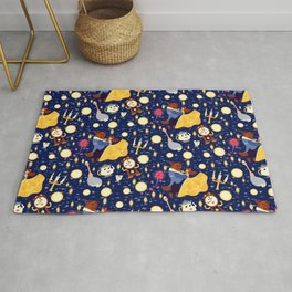 Be Our Guest Pattern Rug