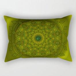 Positive thoughts - Jewel Mandala Rectangular Pillow