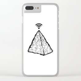 KNOWLEDGE Clear iPhone Case