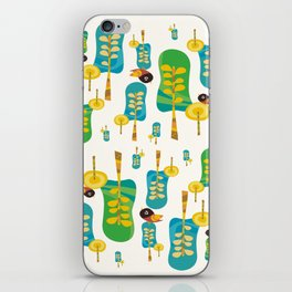 TWITTERING IN THE TREES  iPhone Skin
