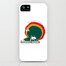 Angela Davis iPhone Case