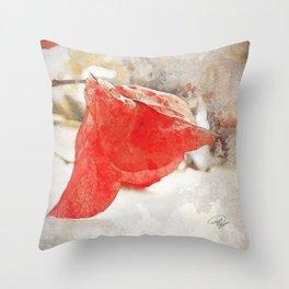 LAST KISS Throw Pillow