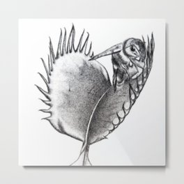 Venus Fly Trap Metal Print