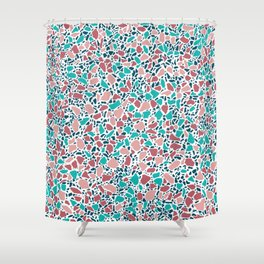 Terrazzo AFE_T2019_S5_2 Shower Curtain