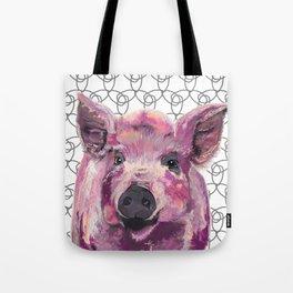Precious Pig Tote Bag