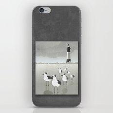 Seagulls Lighthouse iPhone & iPod Skin
