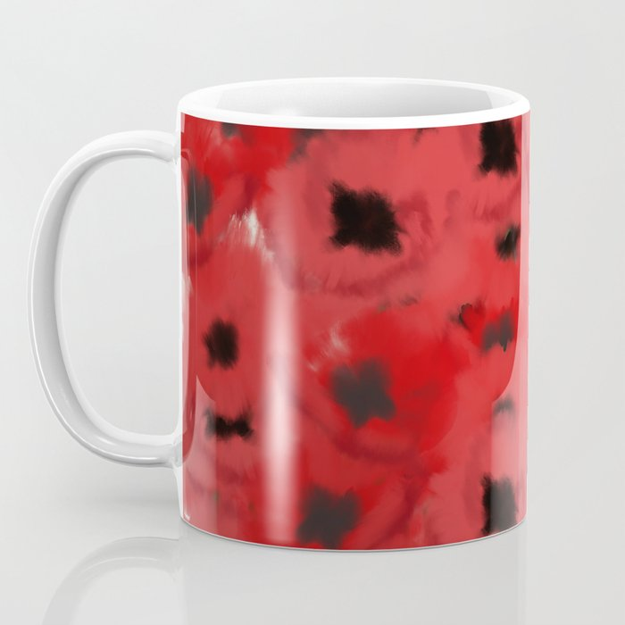 Field of Poppies In Summer Coffee Mug