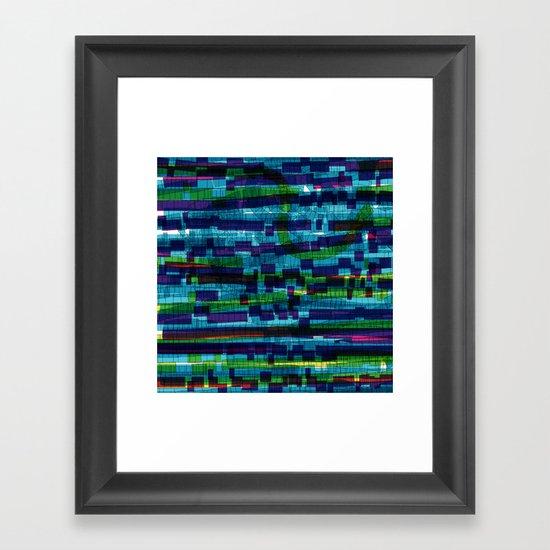 squares traffic Framed Art Print