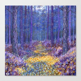 Blue Forest 3 Canvas Print