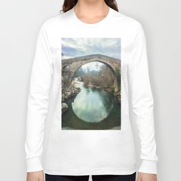 The hump-backed Roman Bridge Long Sleeve T-shirt