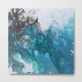 Abstract Flow 6 Metal Print