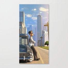 Luca's Day Off Canvas Print