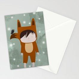Foxie Boy Stationery Cards
