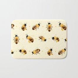 Honey bees Bath Mat