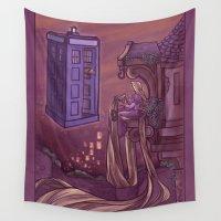 hallion Wall Tapestries featuring You Comin' Blondie?  by Karen Hallion Illustrations