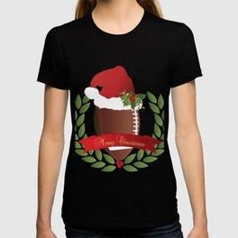 Football Christmas Design T-shirt