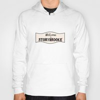 ouat Hoodies featuring OUAT | Welcome to Storybrooke sign by CLM Design