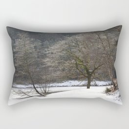 Frozen Mallards Pike Rectangular Pillow