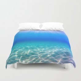 One Deep Breath Duvet Cover