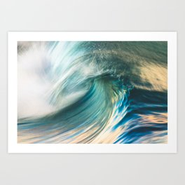 Big Blue Art Print