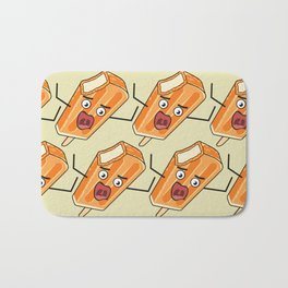 Orange Scream! Bath Mat