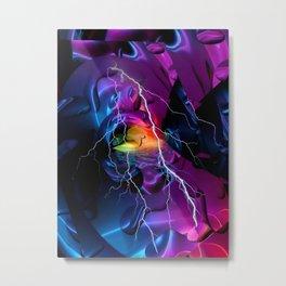 Color Mirror by Nico Bielow Metal Print