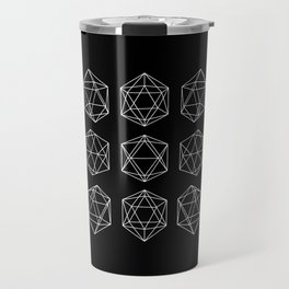 Icosahedron Travel Mug
