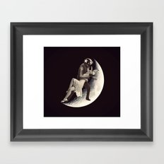Halfway from you  Framed Art Print