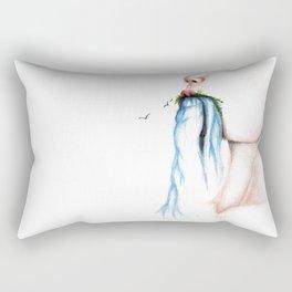 where do we go from here Rectangular Pillow