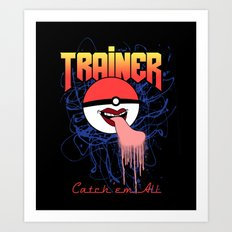 Trainer Art Print