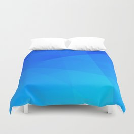 Ombre Blue Duvet Cover