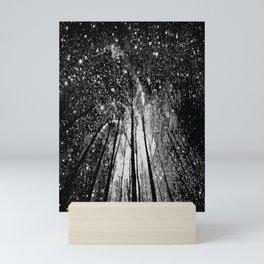 TREES AND STARS Twinkle Sparkles Mini Art Print