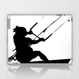 Wakeboarder Water Sport Silhouette Laptop & iPad Skin
