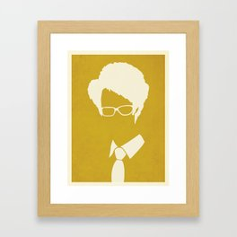 The IT Crowd - Moss Framed Art Print