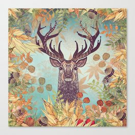 THE FRIENDLY STAG Canvas Print