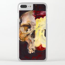 attention to sin Clear iPhone Case