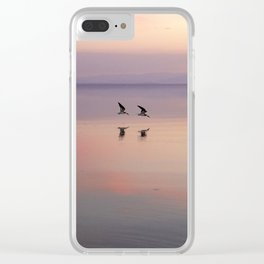 TWIN WING Clear iPhone Case