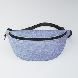 Light Lilac Pixilated Gradient Fanny Pack