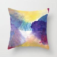 purpleone Throw Pillow