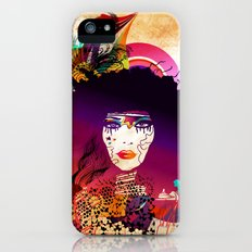 Afro Girl Slim Case iPhone (5, 5s)